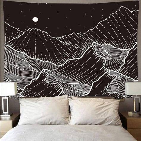 Arazzo Montagne Aride - 150x130 cm