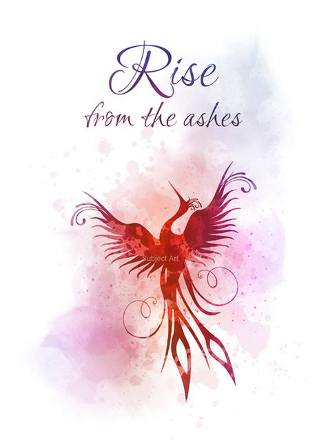 Phoenix, Bird, Quote, ART PRINT, Rise from the Ashes, Mythology, Inspirational, Gift, Wall Art, Home Decor, watercolour, quotes, gift ideas, motivational, birthday, christmas #Phoenix #Bird #Quote #ARTPRINT #RisefromtheAshes #Mythology #Inspirational #Gift #WallArt #HomeDecor #watercolour #quotes #giftideas #motivational #birthday #christmas