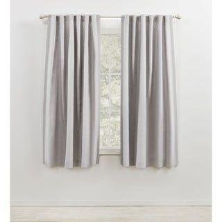 Lauren Ralph Lauren Leanne Back Tab Rod Pocket Curtain Panel In
