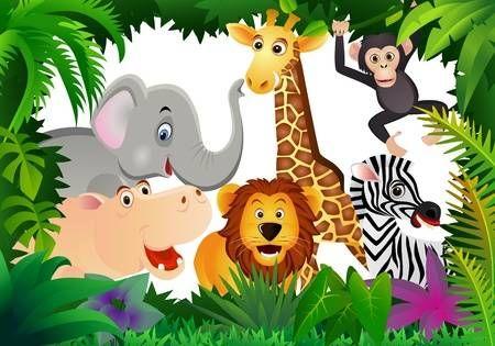 123rf Millones De Fotos Vectores Videos Y Archivos De Musica Para Inspirar Tus Proyectos Cartoon Animals Safari Animals Animal Icon