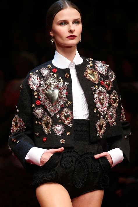 Dolce & Gabbana Spring 2015 Ready-to-Wear Collection Photos - Vogue
