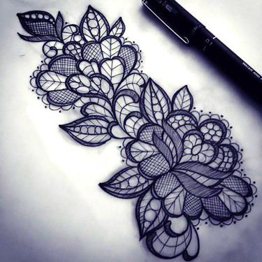 13 Pattern Tattoo Designs