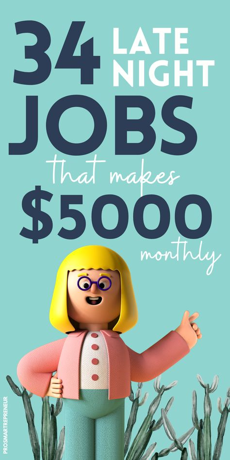 34 Real Part-Time Night Jobs from Home (Make $1000 Every Week)