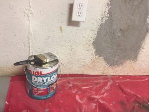 How To Repair A Leaky Basement Wall All About The House Leaky Basement Basement Walls Concrete Basement Walls