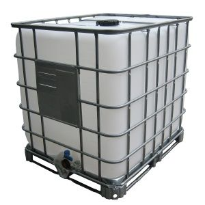 275 Gallon Caged Water Tank Ibc Tote Price 197 Shipping 143 Aquaponics Steel Water Tanks Aquaponics Supplies