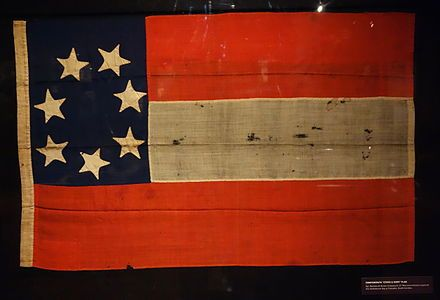 Stars Bars Flag From Columbia Sc Captured By Union Troops In 1865 Flags Of The Confederate States Civil War Flags Confederate States Of America War Flag