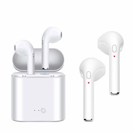 Wireless Bluetooth Headphones Wireless Earbuds Stereo Earphone Cordless Sport Headsets For Iphone7 8 Earbuds Bluetooth Headphones Wireless Wireless Earbuds