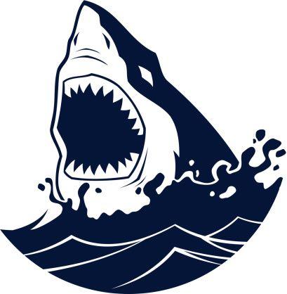 Shark jaws. Pin by kritisha jain