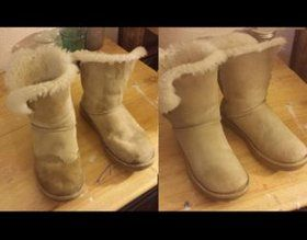 How To Clean Ugg Boots Ugg Boots Leather Boots Ugg Boots Outfit
