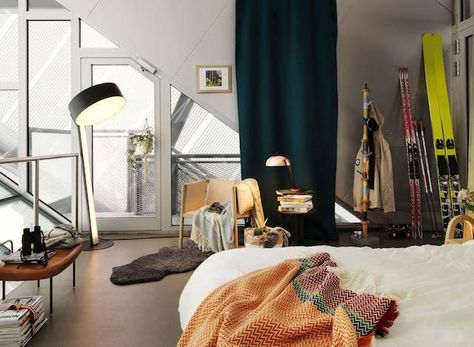 A fab apartment at the top of a Norwegian ski jump!