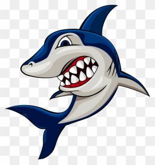 Clipart Shark Cartoon Gambar Ikan Hiu Kartun Png Download Kartun Ikan Hiu Hiu
