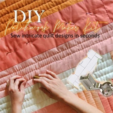Share  Get 5% OFF Get 5% OFF Discount! Full refund within 30 days without reason Shipping gt gt Worldwide Express Shipping Available Handling time gt gt Ship within 24 hours after payment Payments Via PayPal reg and CreditCard Sew Intricate Design In Seconds Quilting is a fun and practical way to pass time and the best thing is you can be as creative as yo