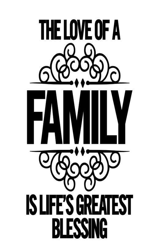 Family Quote Bedroom Living Room Home Décor Wall Art Sticker Vinyl Transfer