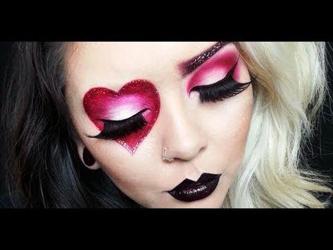 Valentine's Heart makeup tutorial