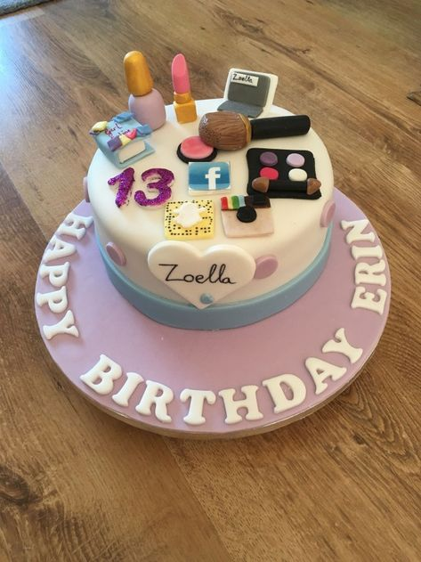 20 Great Photo Of 13 Year Old Birthday Cake Images