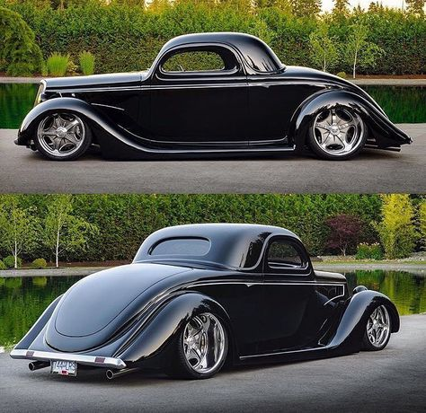 Hot Wheels - Who likes some classic hot rod goodness mixed with new school tech? This Ford is sweet! Hot Rod Autos, Super Snake, Classic Hot Rod, Ford Classic Cars, Classic Muscle Cars, Hot Rides, Sweet Cars, Us Cars, Street Rods