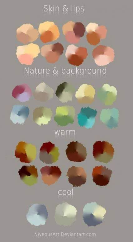 Trendy Skin Tony Chart Paint Color Palettes 22 Ideas Skin