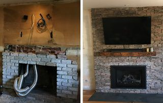 Walnut Creek Fireplace Before After 11 Fireplace Reface