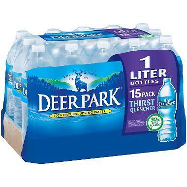 Deer Park Natural Spring Water 1l Bottles 15 Pk Https Food Boutiquecloset Com Product Deer Park Natural Natural Spring Water Spring Nature Spring Water