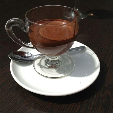 Melted Chocolate From Cafe Chocolat Canterbury Melting
