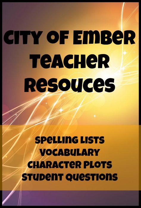 City of Ember teacher resource