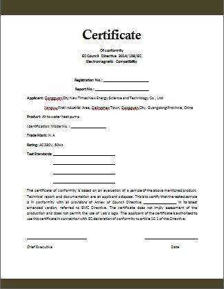 Quality Certificate Of Compliance Template In 2021 Word Template Certificate Templates Microsoft Word Templates
