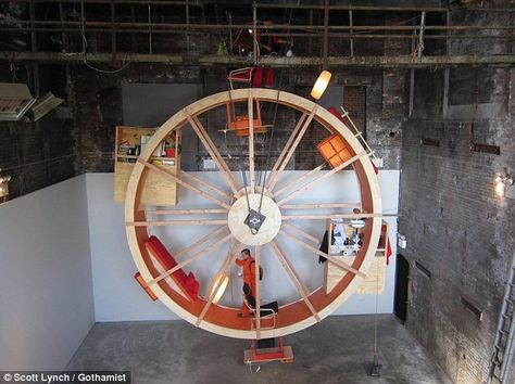 A Hamster Wheel For Humans Hamster Wheel Paint Photography