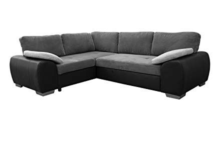 Colorado Corner Sofabed Suite Couch Corner Group In Black Grey