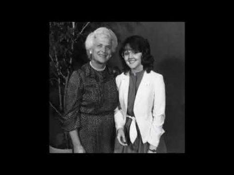 Barbara Bush.  MAN -