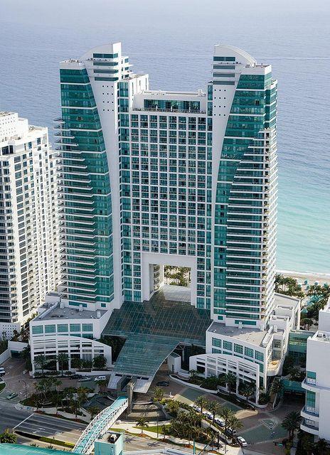The Westin Diplomat Resort Spa Hollywood Florida Exterior Beach Location