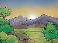 Hasil Gambar Untuk Kartun Kenampakan Alam Pegunungan Alam Gambar Kartun