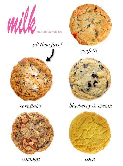 Momofuku Milk Bar Cornflake Cookie Recipe Milk Bar Recipes Momofuku Milk Bar Momofuku Cookies