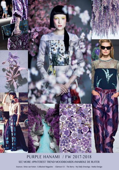 Purple hanami trend fw 2017 2018 marieke de ruiter … from fall outfits 2018