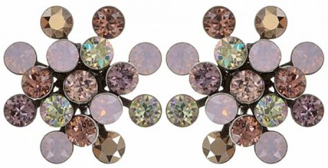 Konplott Ohrringe Magic Fireball Rosa Opal