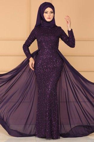 Modaselvim Tesettur Payetli Abiye Elbise Modelleri Elbise Modelleri Elbise The Dress