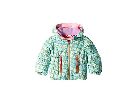 ef9f6116b Obermeyer Kids Cakewalk Jacket (Toddler/Little Kids/Big Kids) (Flowerful  Print) Girl's Coat. ; Playing in the fresh powder makes it worry-free when  they're ...