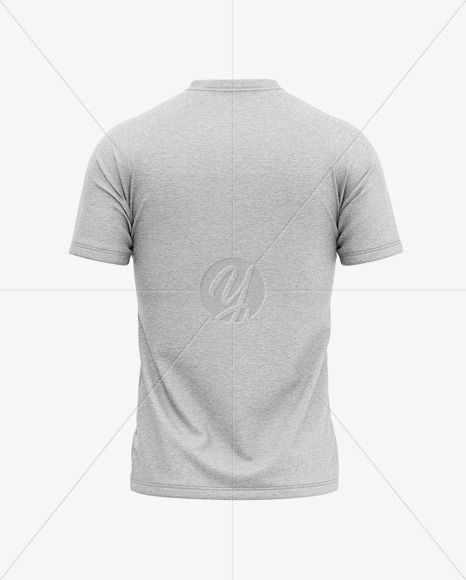 Download Men S Heather V Neck T Shirt Mockup Back View In Apparel Mockups On Yellow Images Object Mockups Shirt Mockup Clothing Mockup Tshirt Mockup