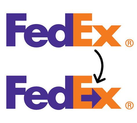 LePage- logos and logotypes- FedEx- FedExu0027s logo is one of the - fedex jobs