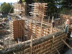 The Design Of The Formwork Wall Concrete Retaining Walls Retaining Wall Smooth Concrete