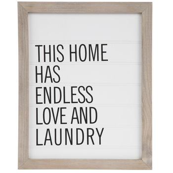 Endless Love Laundry Wood Wall Decor With Images Wall Art
