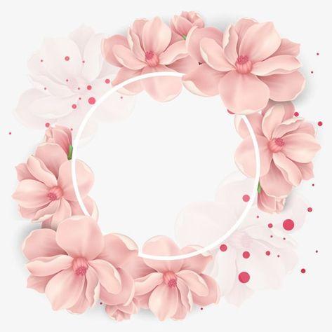 Vector Icon Vector Blumenrahmen Blumentapete Blumen Hintergrunde