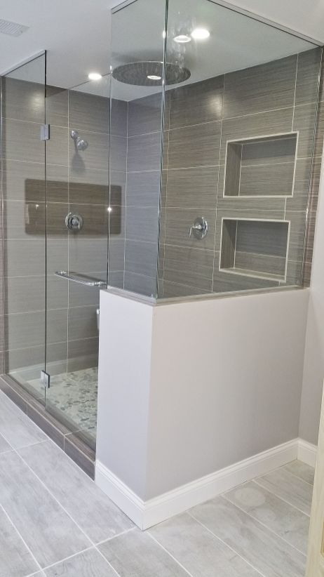 The Best And Awesome Modern Bathroom Shower Design 58 Ideas Bathroom Remodel Shower Bathroom Remodel Small Shower Diy Bathroom Remodel