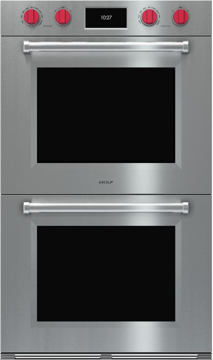 Wolf Do30x 30 Inch Double Electric Wall Oven With 5 1 Cu Ft Dual Verticross Convection Ovens 10 Cooking Modes Self Clean Gourmet Mode
