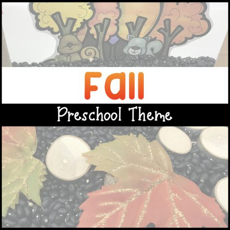 Fall into learning with these fall activities for preschool! Check out hands-on ways to incorporate literacy, math, and science for your autumn theme!