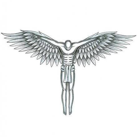 42  Ideas For Tattoo Back Wings God