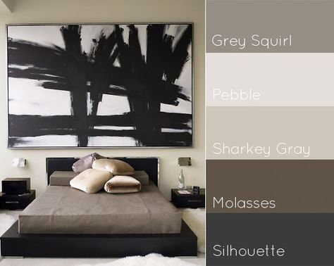 1000 ideas about masculine bedrooms on pinterest Masculine paint colors