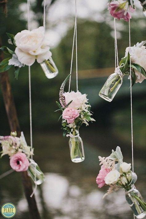 Easy DIY Decor pour les réceptions de mariage pour les mariées sur un budget