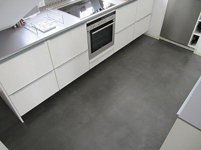 beton+cire+boden+01jpg (400×300) Küche Pinterest Polished