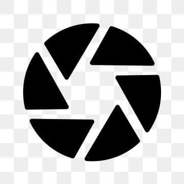 Shutter Lens Lens Icon Icon Shutter Icon Illustration Sign Symbol Graphic Line Linear Outline Flat Glyph Shadow Camera Logos Design Photo Logo Design Logo Psd