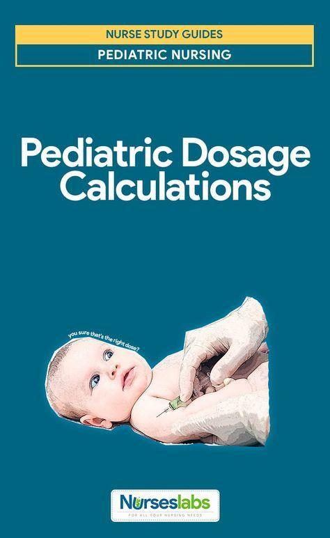 Pediatric Dosage Calculations   posters   Pediatric